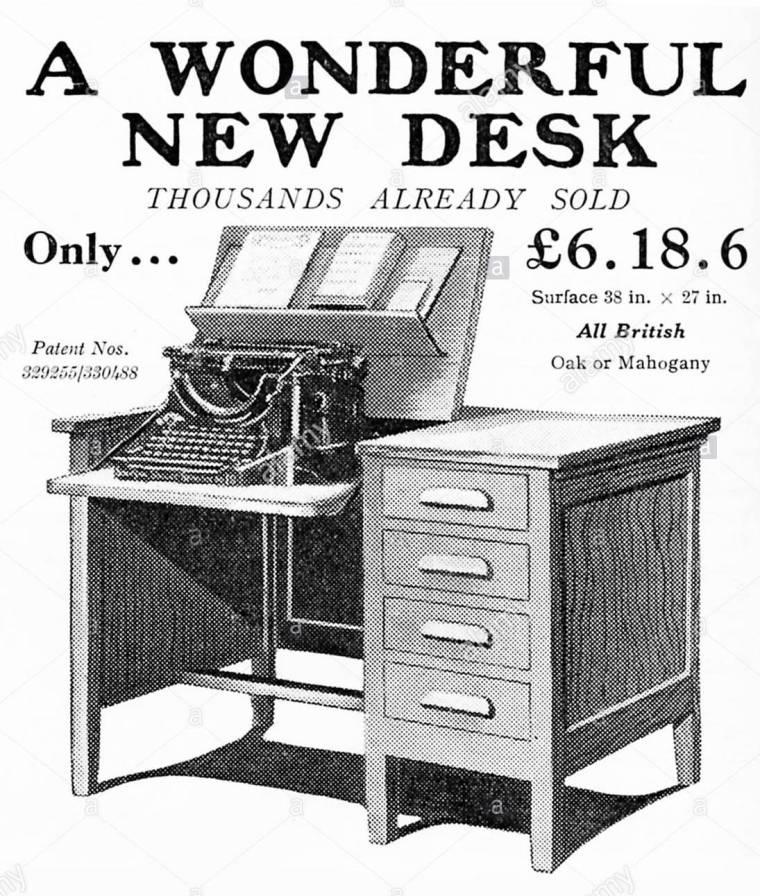 secrytype-desk-by-osda-ltd-advert-british-1932-with-platform-for-typewriter-ERG9D8